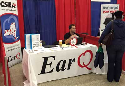 CSEA Invites EarQ to Improve Its Members' Hearing Health