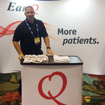 EarQ at International Hearing Society's annual convention