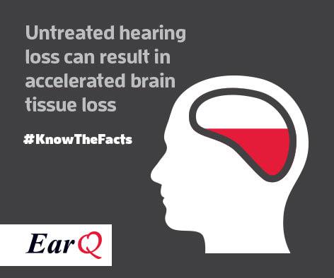 hearing loss causes brain shrinkage