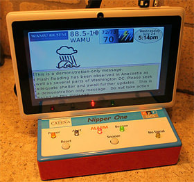 Nipper One NOAA Weather Radio