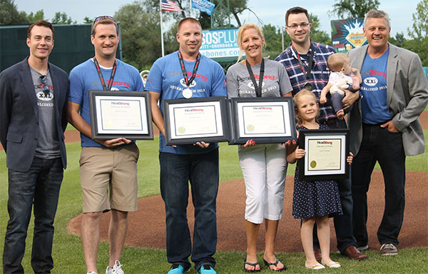 HearStrong Champions at the Syracuse Chiefs